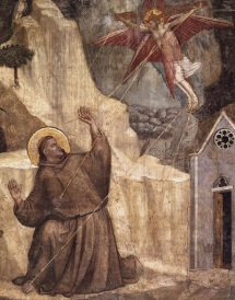 Giotto.1325.Stigmatisation of St. Francis