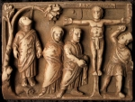 Crucifixion.casketpanel.5th century.British Museum London